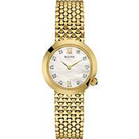 orologio solo tempo donna Bulova Diamonds 97S114