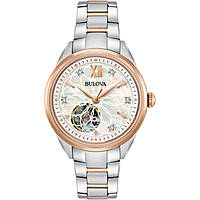 orologio solo tempo donna Bulova Diamonds 98P170