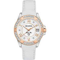 orologio solo tempo donna Bulova Diamonds 98R233