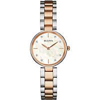 orologio solo tempo donna Bulova Diamonds 98S147