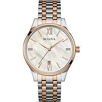 orologio solo tempo donna Bulova Diamonds 98S150