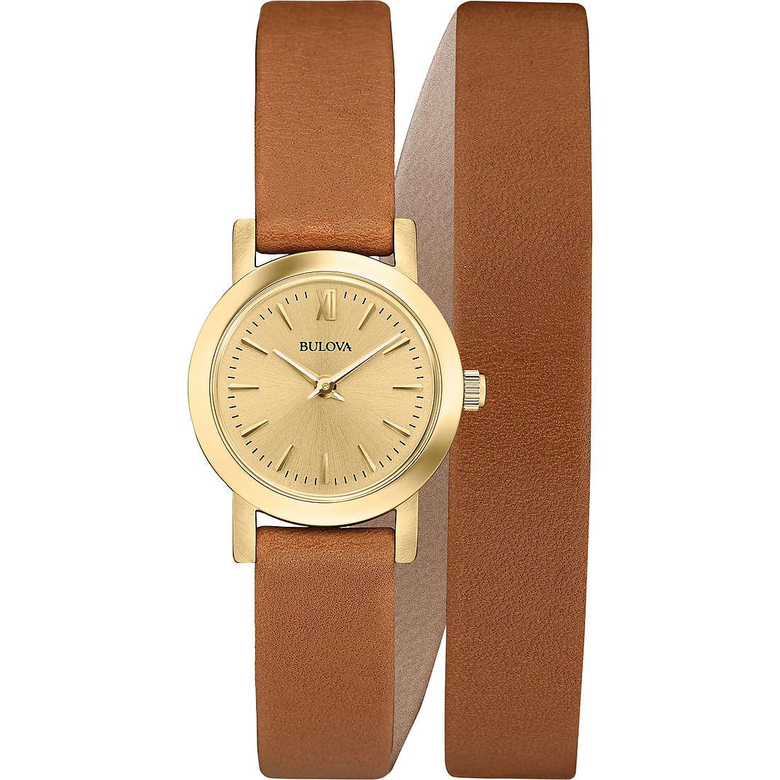 orologio solo tempo donna Bulova Dress 97L135