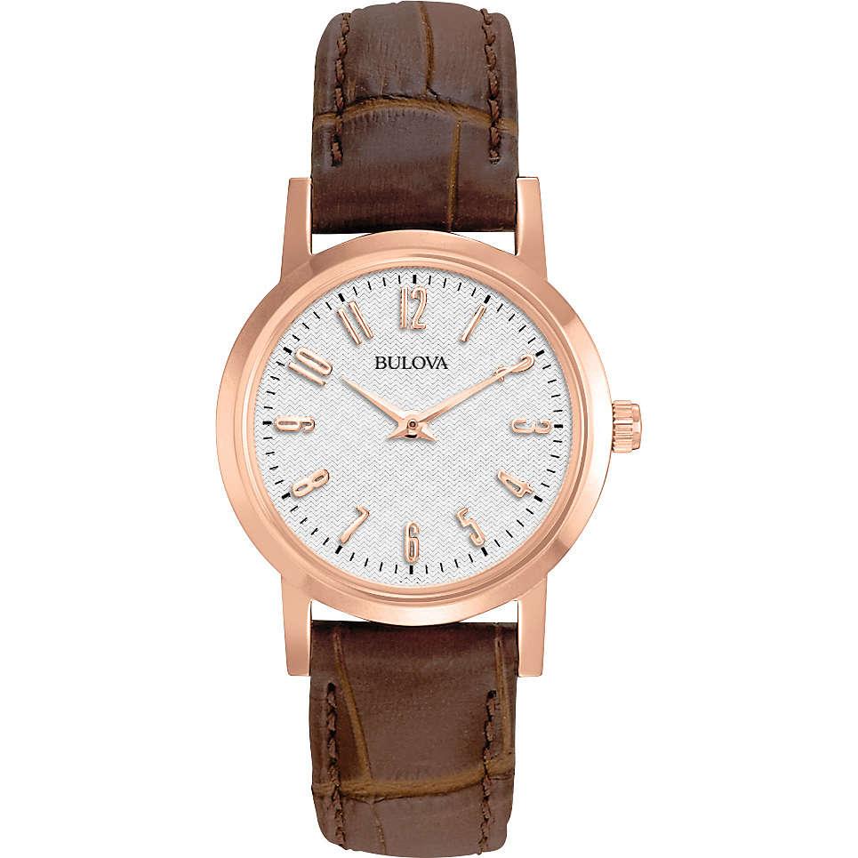 orologio solo tempo donna Bulova Dress Duets 97L121