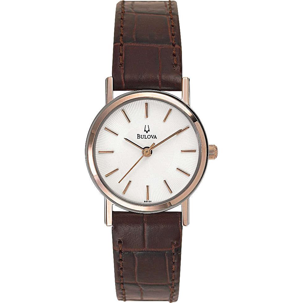 orologio solo tempo donna Bulova Dress Duets 98V31