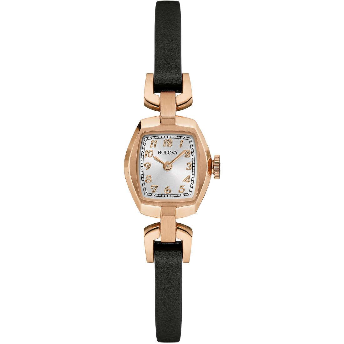 orologio solo tempo donna Bulova Vintage 97L154