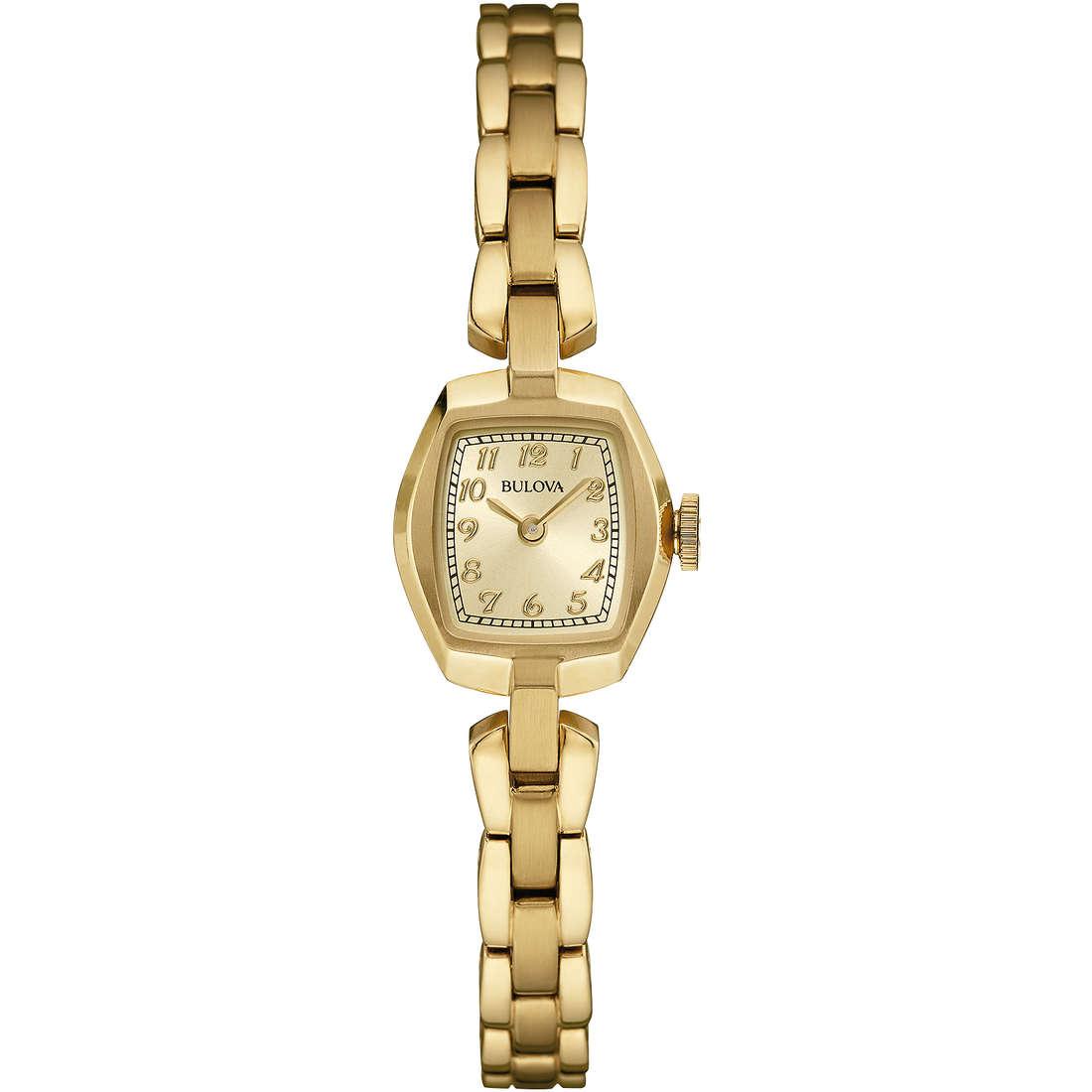 orologio solo tempo donna Bulova Vintage 97L155