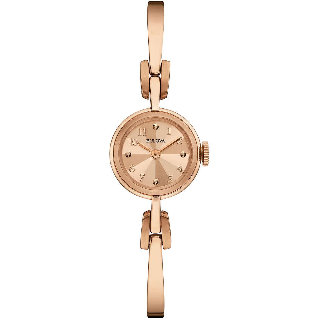 orologio solo tempo donna Bulova Vintage 97L156