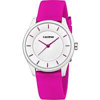 orologio solo tempo donna Calypso Sweet Time K5733/4