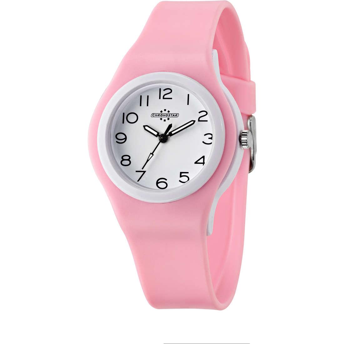 orologio solo tempo donna Chronostar Colori R3751250502