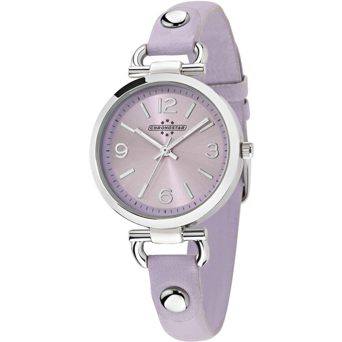 orologio solo tempo donna Chronostar Queen R3751239510