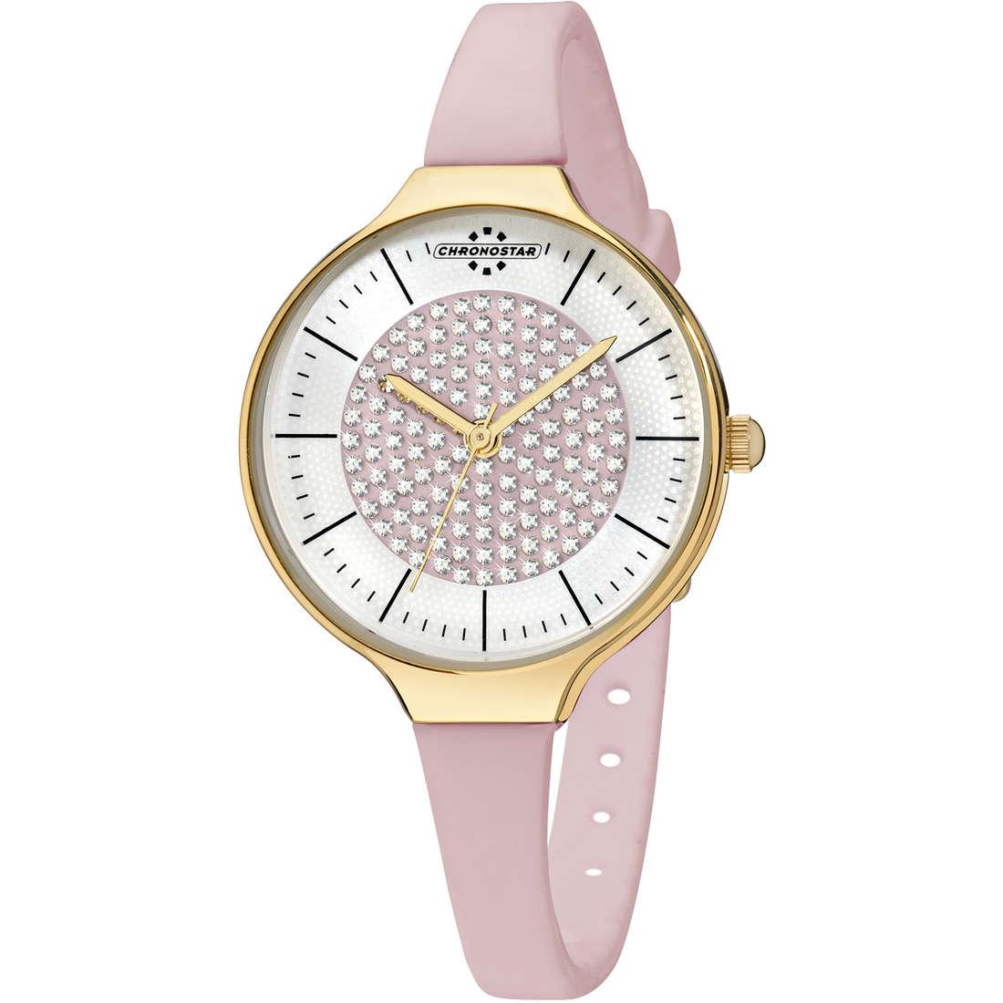 orologio solo tempo donna Chronostar Toffee R3751248511