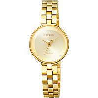 orologio solo tempo donna Citizen Ambiluna EW5502-51P