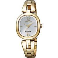 orologio solo tempo donna Citizen Eco-Drive EM0185-52A