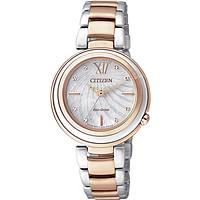 orologio solo tempo donna Citizen Eco-Drive EM0335-51D