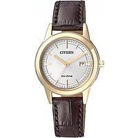 orologio solo tempo donna Citizen Eco-Drive FE1083-02A
