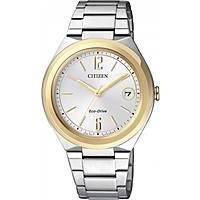 orologio solo tempo donna Citizen Eco-Drive FE6024-55A