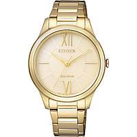 orologio solo tempo donna Citizen EM0412-52P