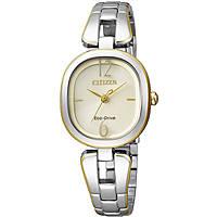 orologio solo tempo donna Citizen Lady EM0186-50P