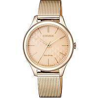 orologio solo tempo donna Citizen Lady EM0503-83X