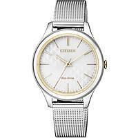 orologio solo tempo donna Citizen Lady EM0504-81A