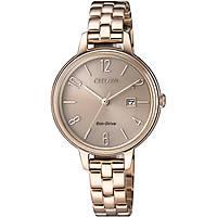 orologio solo tempo donna Citizen Lady EW2443-80X