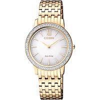 orologio solo tempo donna Citizen Lady EX1483-84A
