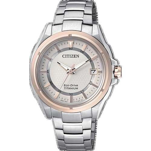 orologio solo tempo donna Citizen Super Titanio FE6044-58A