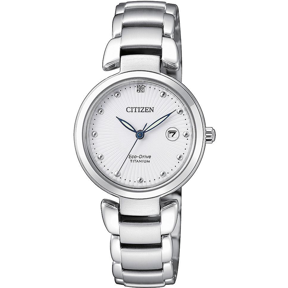 rivenditore online ee7ce 72f92 orologio solo tempo donna Citizen Supertitanio EW2500-88A
