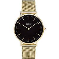 orologio solo tempo donna Cluse La Bohème CL18110