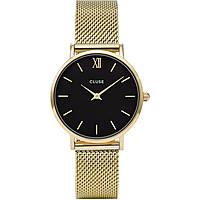 orologio solo tempo donna Cluse Minuit CL30012