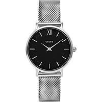 orologio solo tempo donna Cluse Minuit CL30015