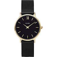 orologio solo tempo donna Cluse Minuit CL30026