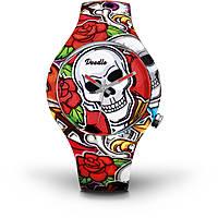 orologio solo tempo donna Doodle Skull Mood DOSK003