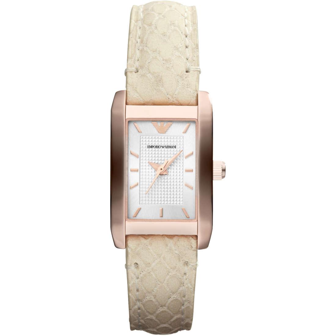 orologio solo tempo donna Emporio Armani AR1655