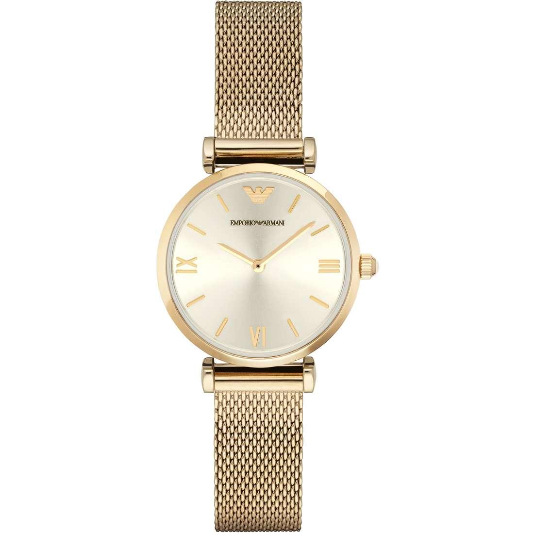 orologio solo tempo donna Emporio Armani Gianni T-Bar AR1957