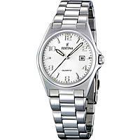 orologio solo tempo donna Festina Acero Clasico F16375/5