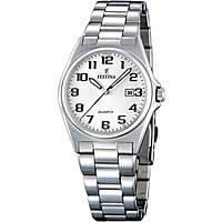 orologio solo tempo donna Festina Acero Clasico F16375/9
