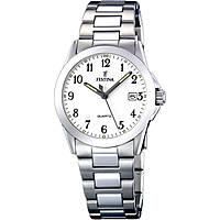 orologio solo tempo donna Festina Acero Clasico F16377/1