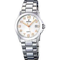 orologio solo tempo donna Festina Acero Clasico F16377/3