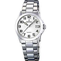 orologio solo tempo donna Festina Acero Clasico F16377/7