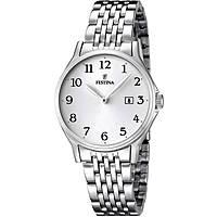 orologio solo tempo donna Festina Acero Clasico F16748/1