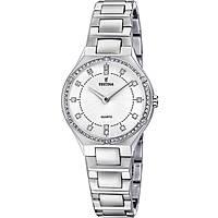 orologio solo tempo donna Festina Acero Clasico F20225/1