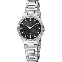 orologio solo tempo donna Festina Acero Clasico F20225/2
