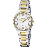 orologio solo tempo donna Festina Acero Clasico F20226/1