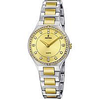 orologio solo tempo donna Festina Acero Clasico F20226/2