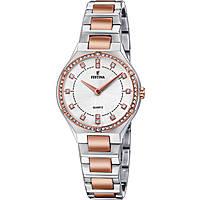 orologio solo tempo donna Festina Acero Clasico F20226/3