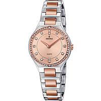 orologio solo tempo donna Festina Acero Clasico F20226/4