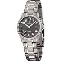 orologio solo tempo donna Festina Calendario Titanium F16459/2