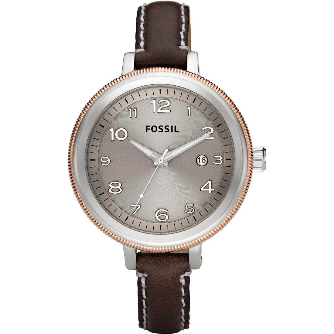 orologio solo tempo donna Fossil AM4304