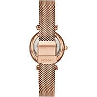 orologio solo tempo donna Fossil Carlie ES4443SET